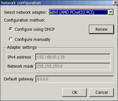 Automatic network configuration