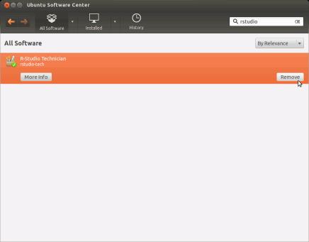 R-Studio for Linux (Debian/Ubuntu) install/uninstall/register