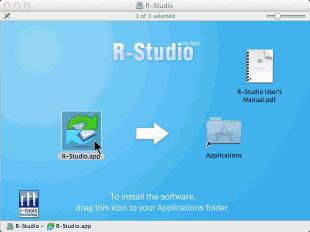 R-Studio for Mac install/uninstall/register