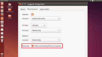 Setting permissions for R-Studio Agent for Linux